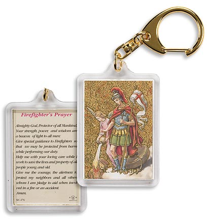 St. Florian (Firefighters) Keychain
